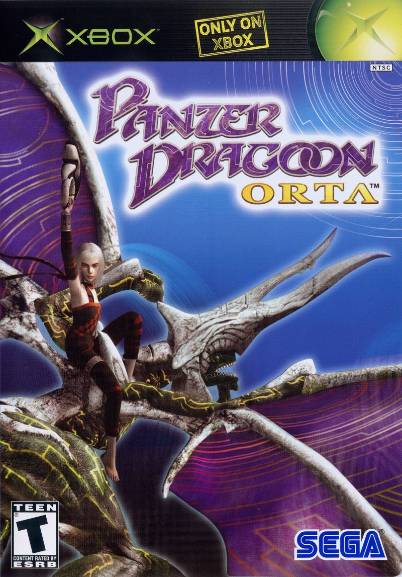 Panzer Dragoon Orta Xbox Front Cover