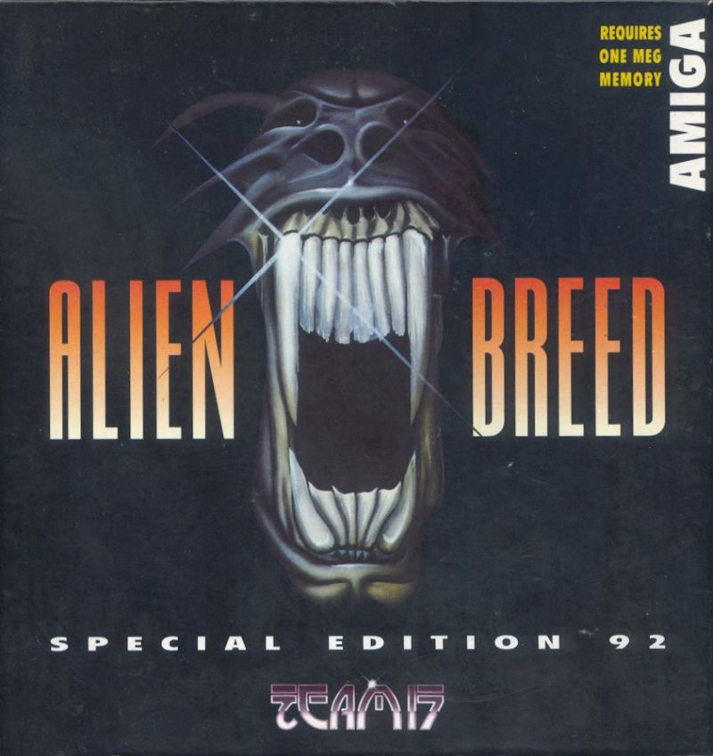 Alien Breed: Special Edition 92 Amiga Front Cover
