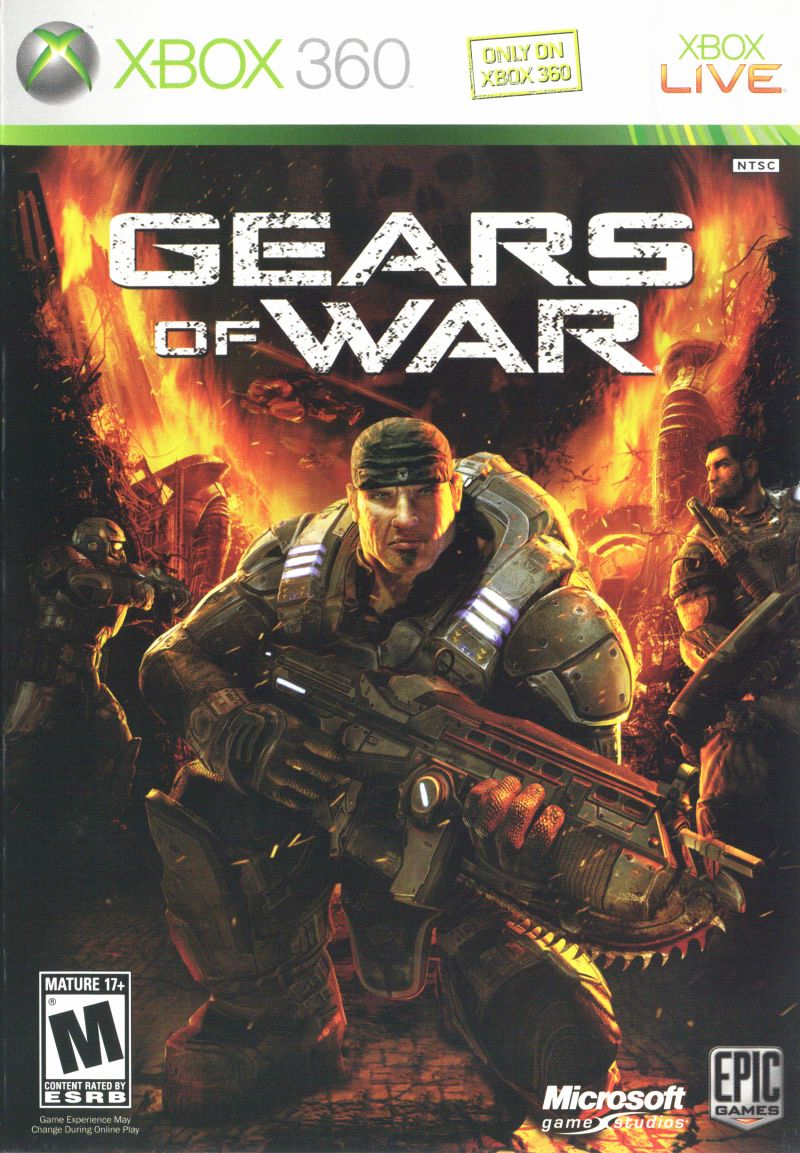 Gears of War for Xbox 360 (2006) - MobyGamesXbox 360 Game Covers