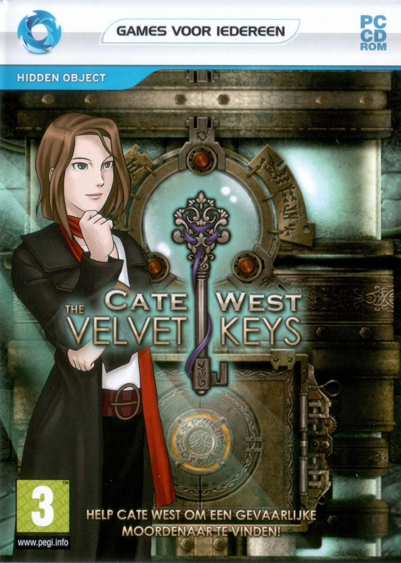Cate West: The Velvet Keys Windows Front Cover