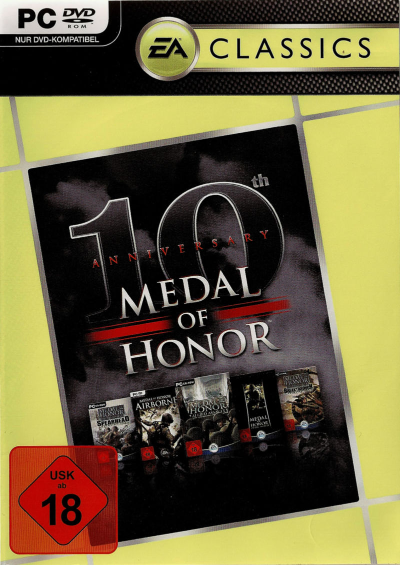 Medal of Honor: 10th Anniversary Windows Front Cover