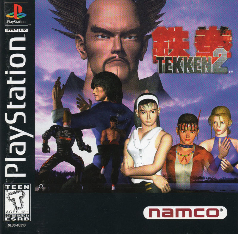 Image result for tekken 2 ps1 cover