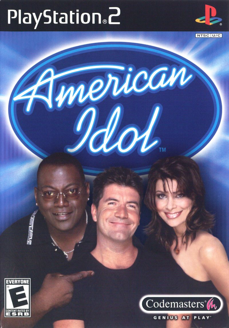 American Idol PlayStation 2 Front Cover