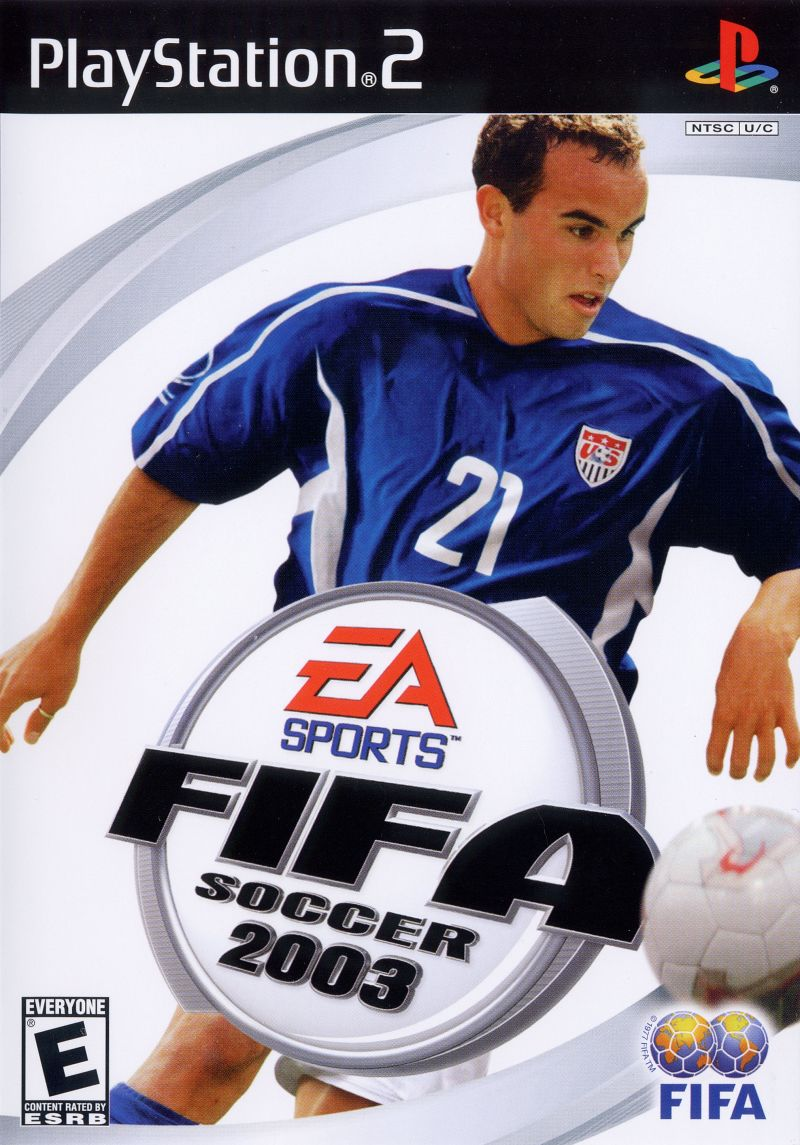 FIFA Soccer 2003 PlayStation 2 Front Cover