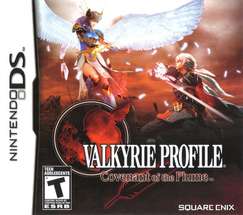 Valkyrie Profile: Covenant of the Plume Nintendo DS Front Cover