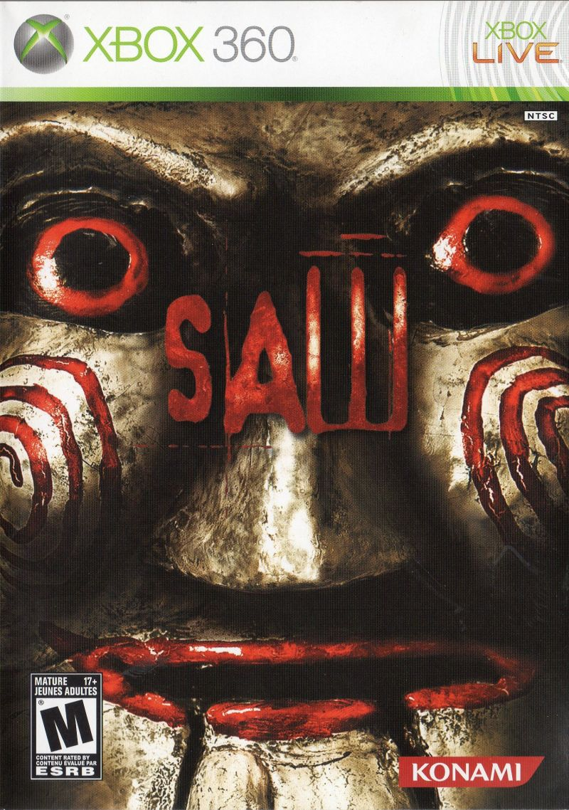 Saw for PlayStation 3 (2009) - MobyGamesXbox 360 Game Covers