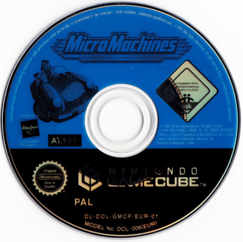 Micro Machines GameCube Media