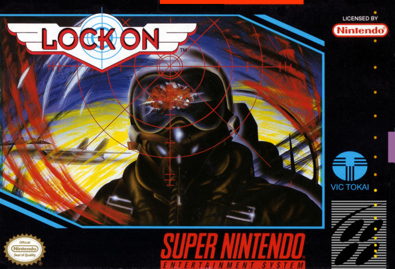 Image result for lock on snes cover