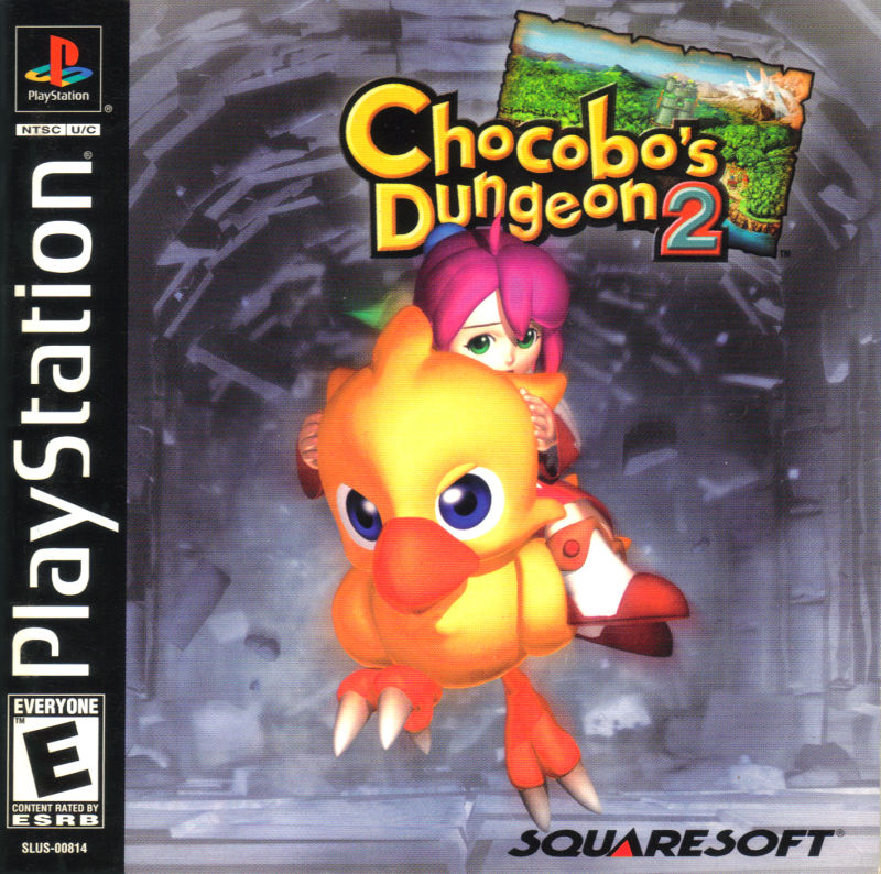 Chocobo's Dungeon 2 PlayStation Front Cover