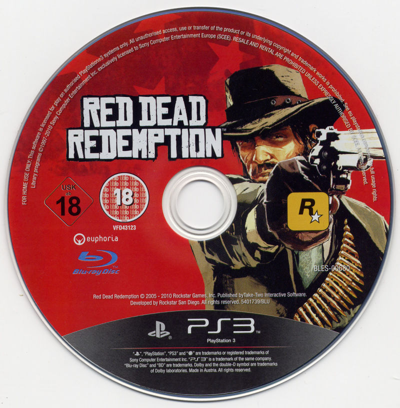 Red Dead Redemption PlayStation 3 Media