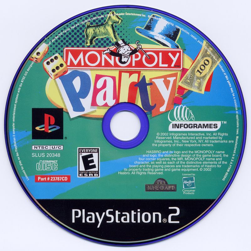 Monopoly playstation 2 (ps2) video spēle in stock eveikals. Lv.