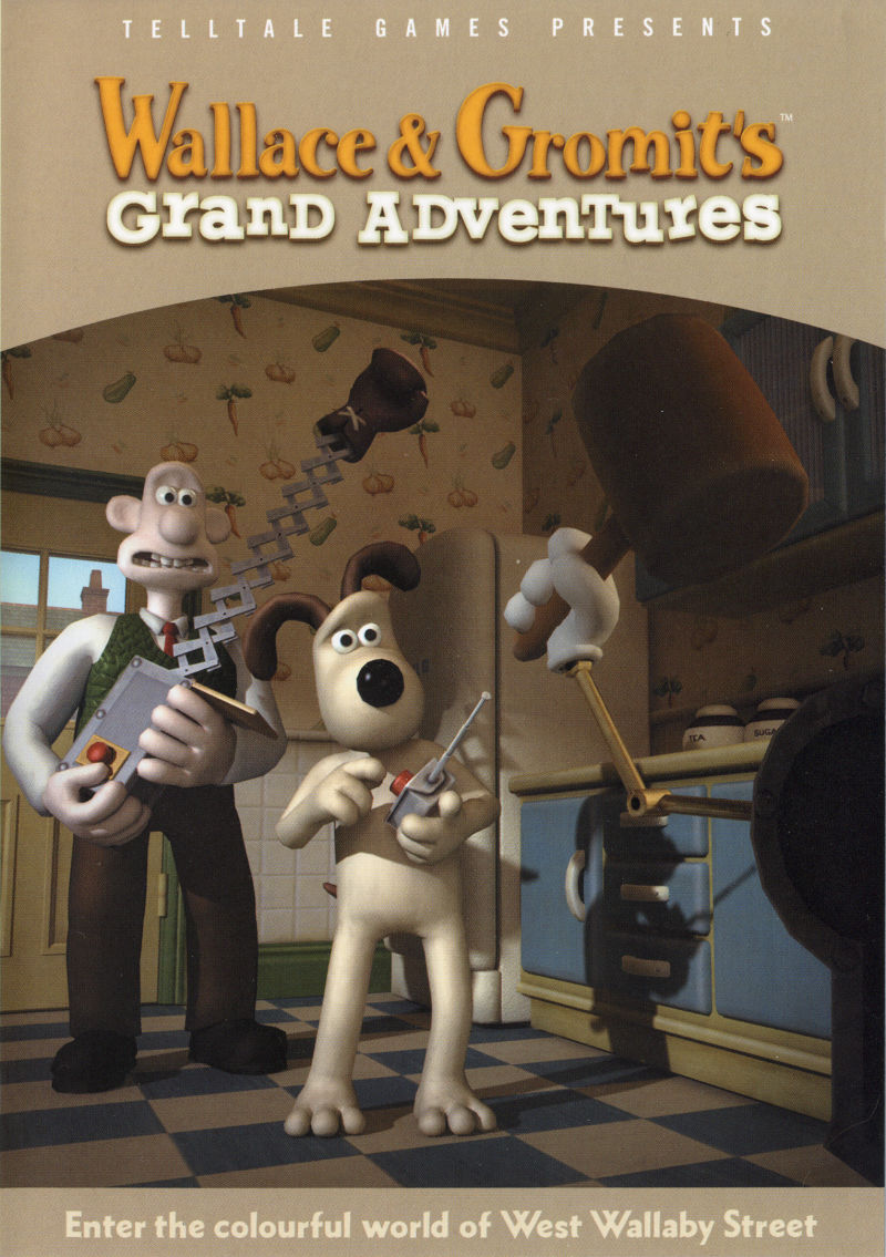 Wallace & Gromit's Grand Adventures Windows Front Cover