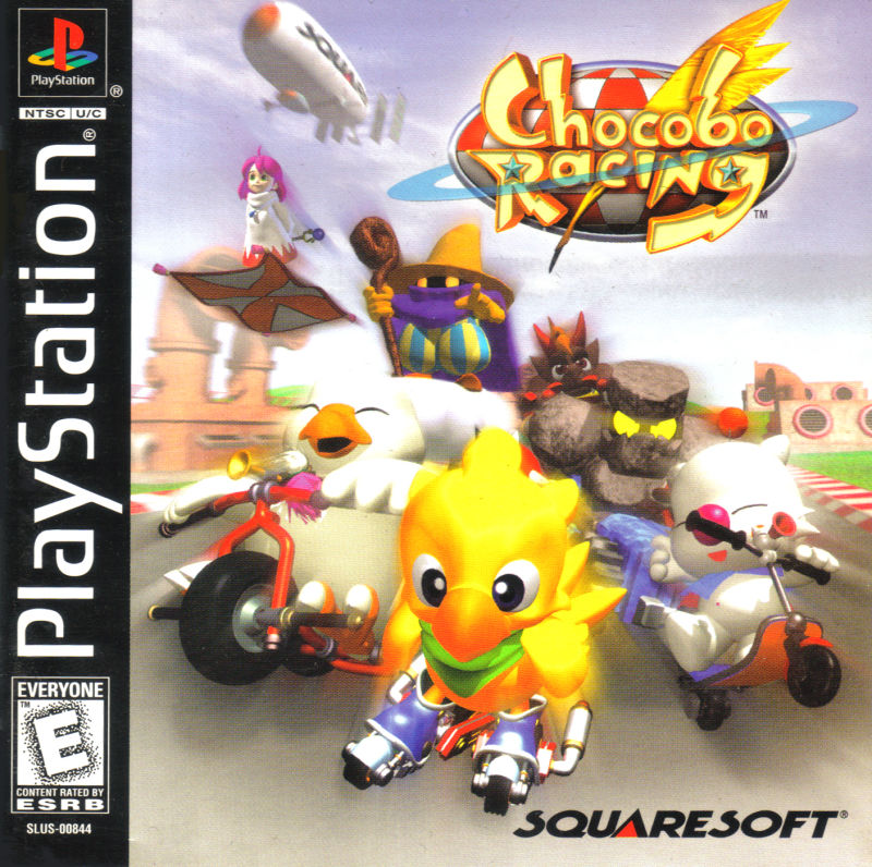 Chocobo Racing PlayStation Front Cover