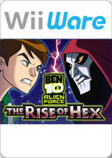 Ben 10 Alien Force: The Rise of Hex Wii Front Cover