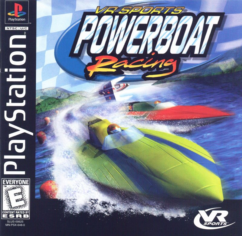 VR Sports Powerboat Racing PlayStation Front Cover