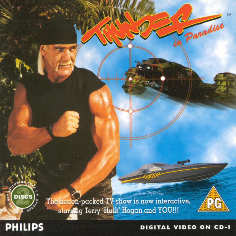 Thunder in Paradise Interactive CD-i Front Cover