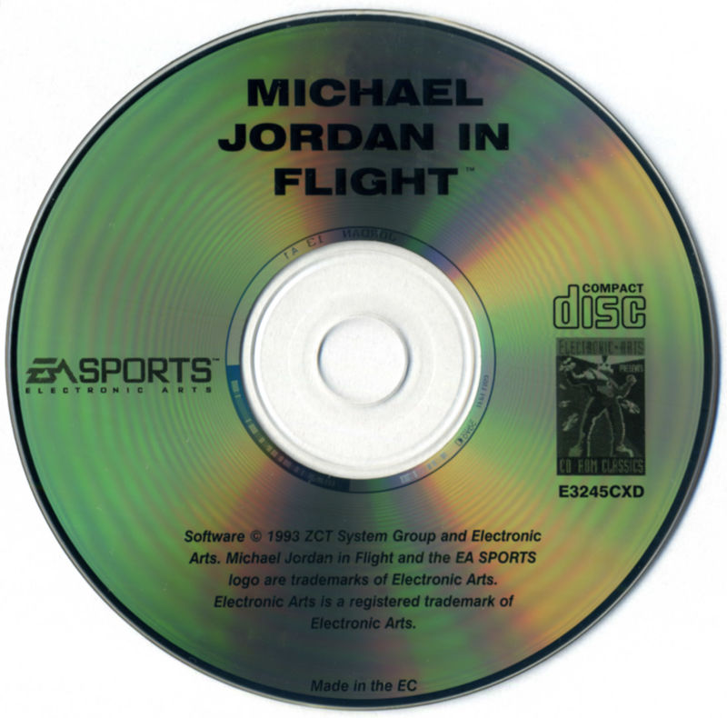 Michael Jordan in Flight DOS Media
