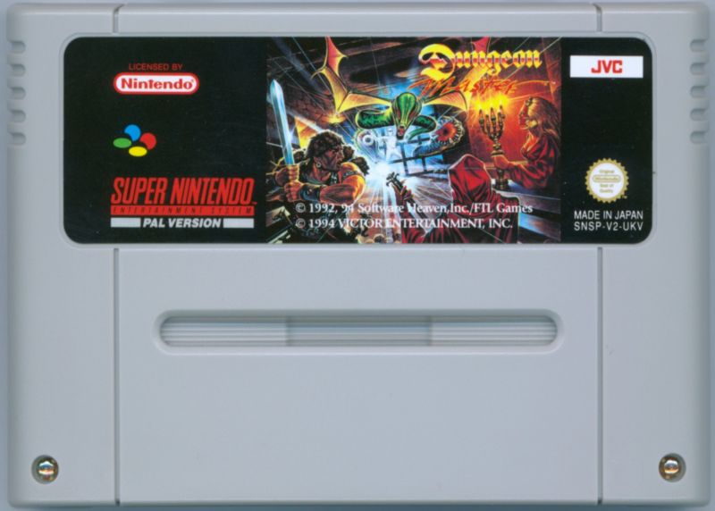 Dungeon Master SNES Media