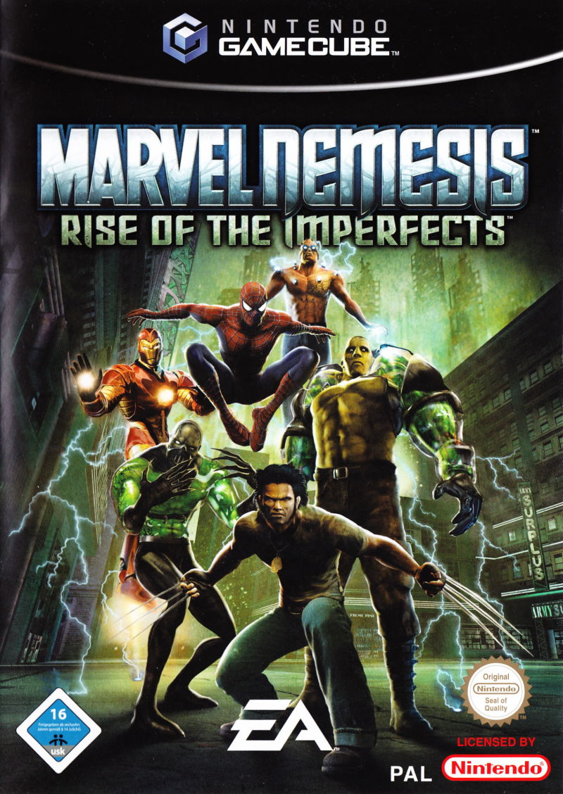 Marvel Nemesis: Rise of the Imperfects GameCube-ISO Game
