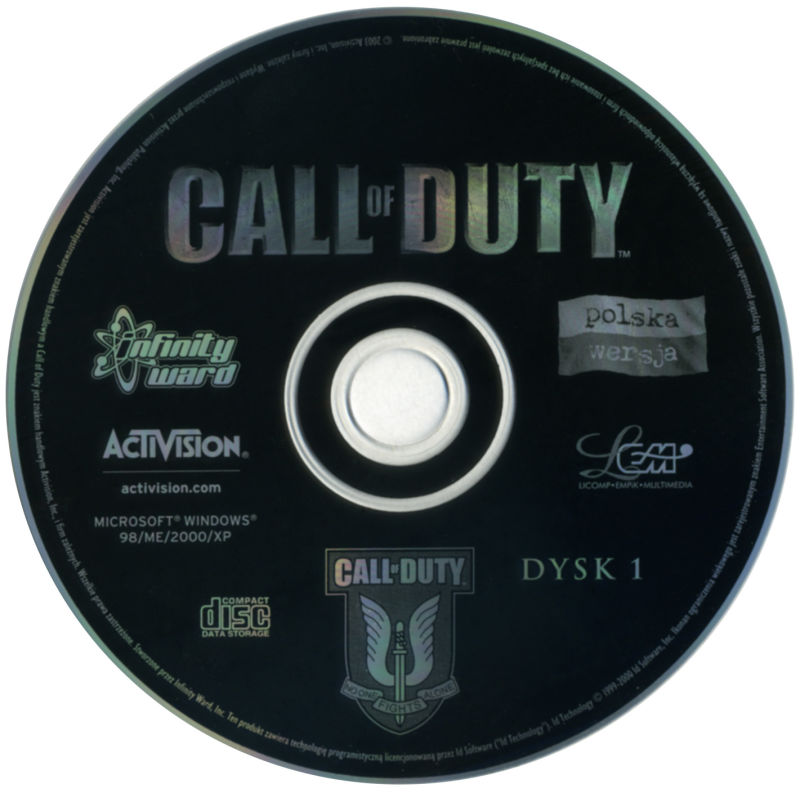 Call of Duty Windows Media Disc 1/2