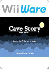 Cave Story Wii Front Cover