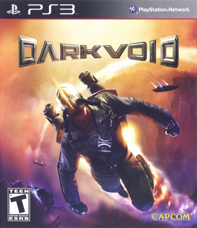Dark Void PlayStation 3 Front Cover