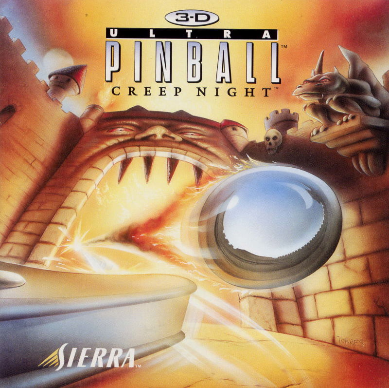 3-D Ultra Pinball: Creep Night Windows Other Jewel Case - Front