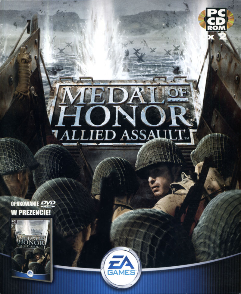 Medal of Honor: Allied Assault Windows Front Cover