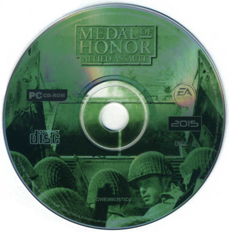 Medal of Honor: Allied Assault Windows Media Disc 2