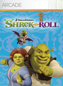 Shrek-N-Roll Xbox 360 Front Cover