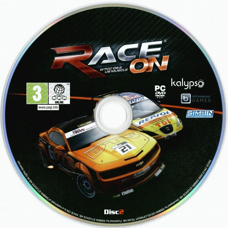 RACE On Bundle Windows Media Disc 2