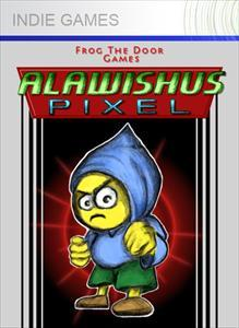 Alawishus Pixel Xbox 360 Front Cover 1st version