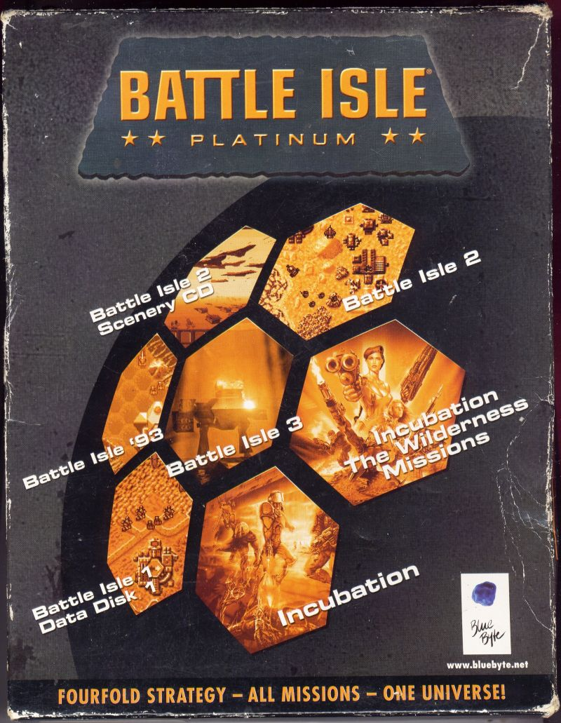 Battle Isle: Platinum DOS Front Cover