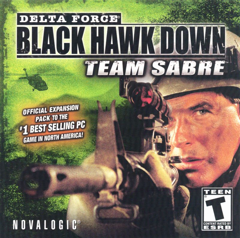 Delta Force: Black Hawk Down - Team Sabre Windows Other Jewel Case - Front