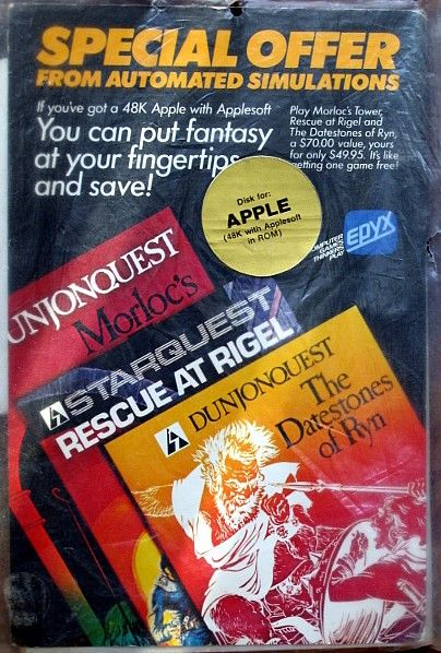 3 Pack Apple II Front Cover