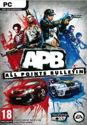 APB: All Points Bulletin Windows Front Cover