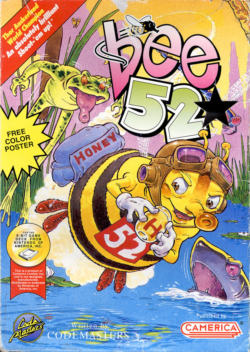 Bee 52 NES Front Cover