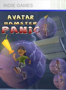 Avatar Hamster Panic Xbox 360 Front Cover
