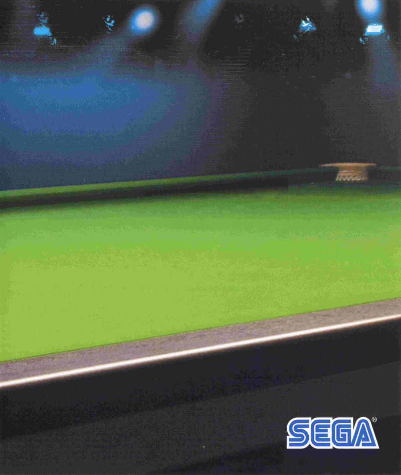 World Snooker Championship 2007 PlayStation 3 Inside Cover Right