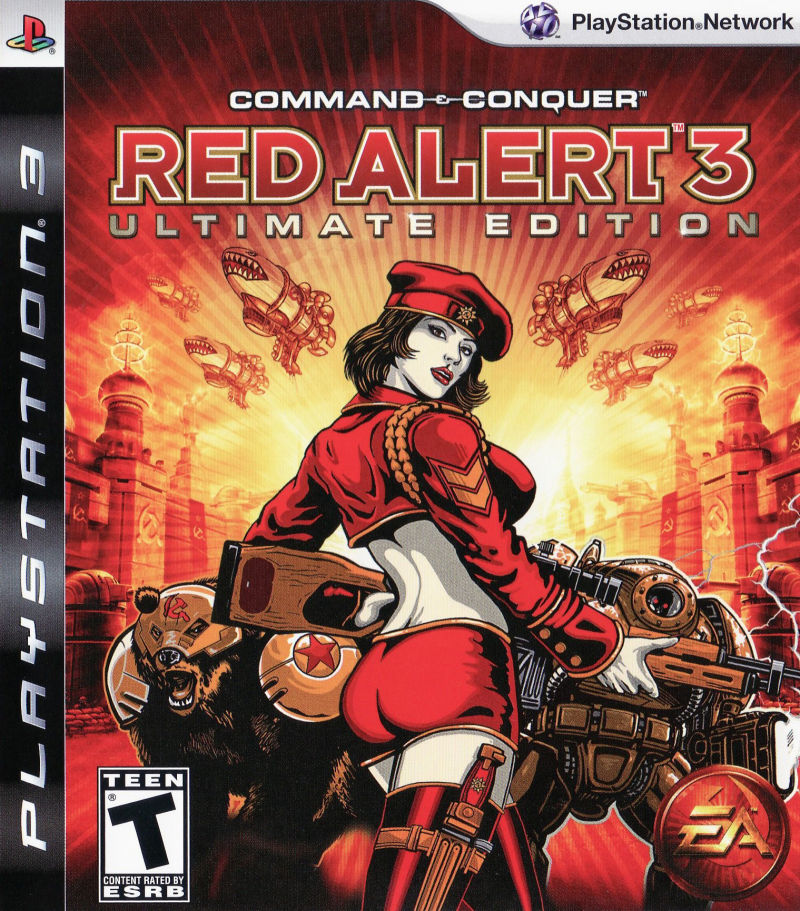 Command & Conquer: Red Alert 3 - Ultimate Edition PlayStation 3 Front Cover