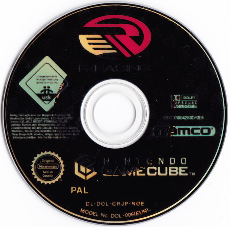 R:Racing Evolution GameCube Media