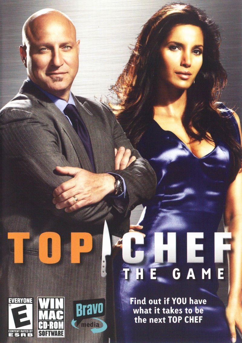 Top Chef: The Game Macintosh Front Cover