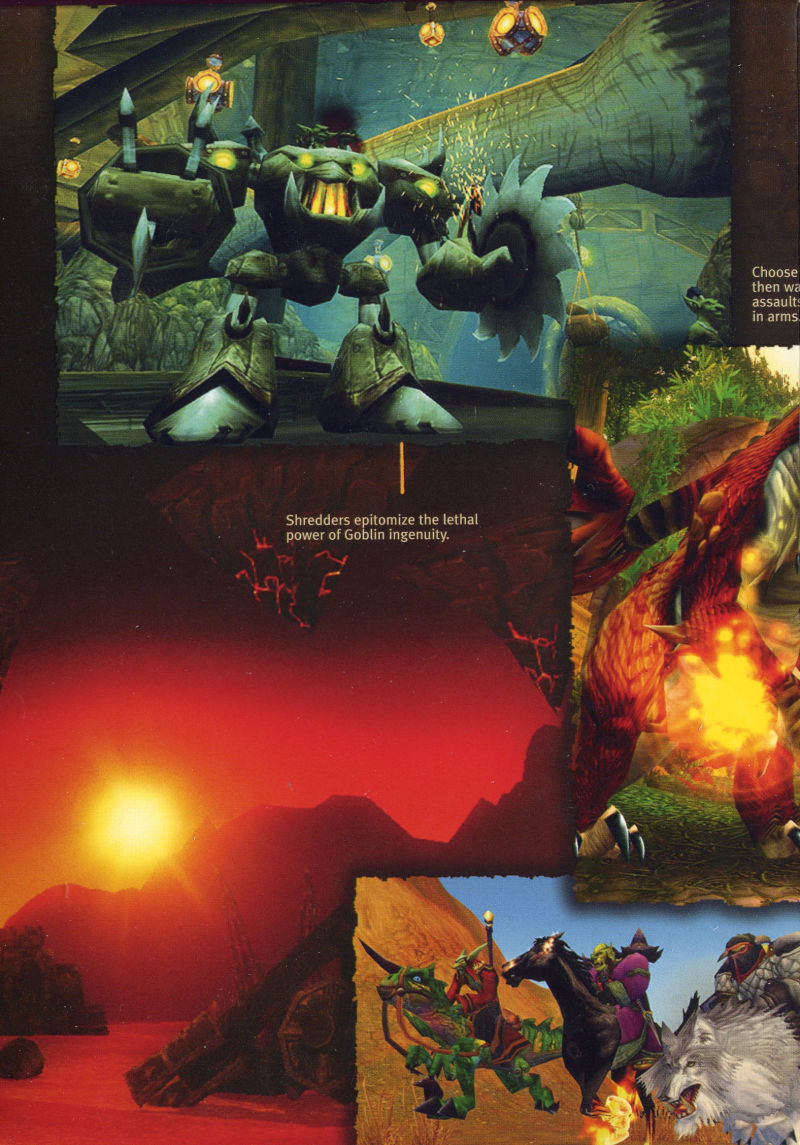 World of WarCraft Macintosh Inside Cover Box Inside Flap #5