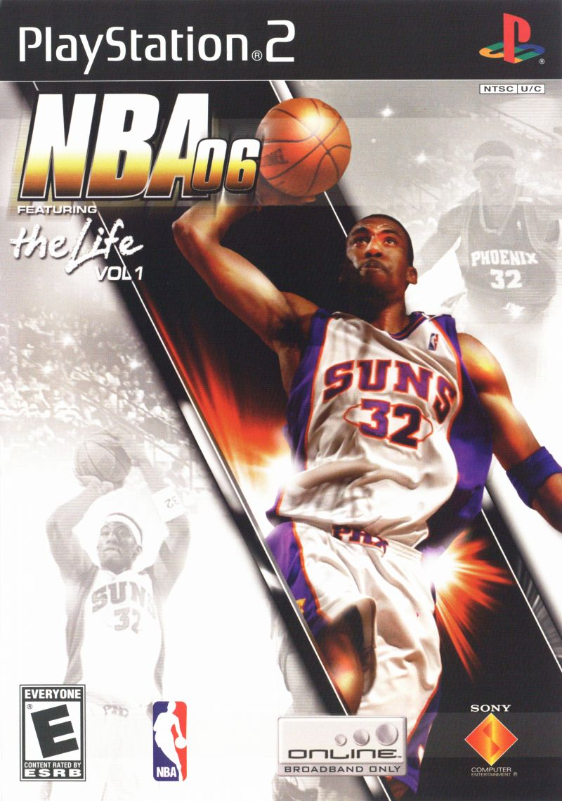 NBA 06 PlayStation 2 Front Cover