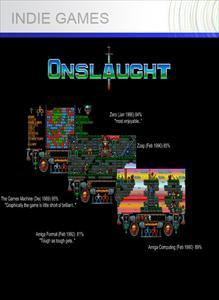 Onslaught Xbox 360 Front Cover