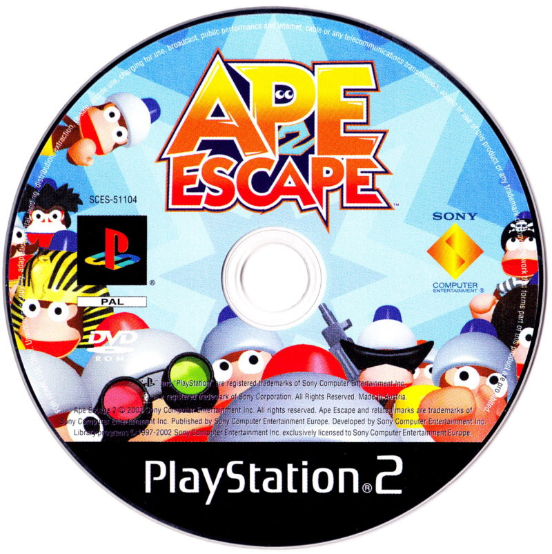 Ape Escape 2 PlayStation 2 Media