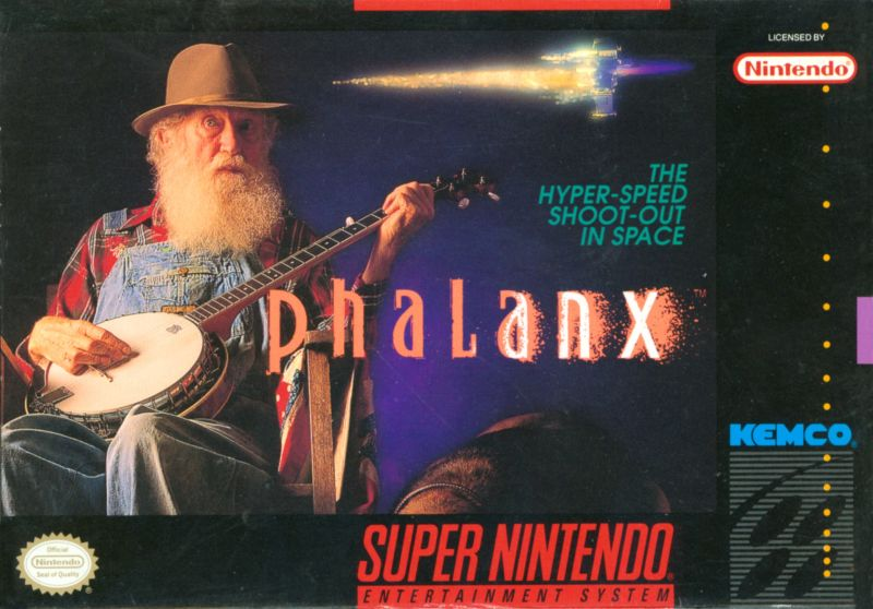 Phalanx SNES Front Cover
