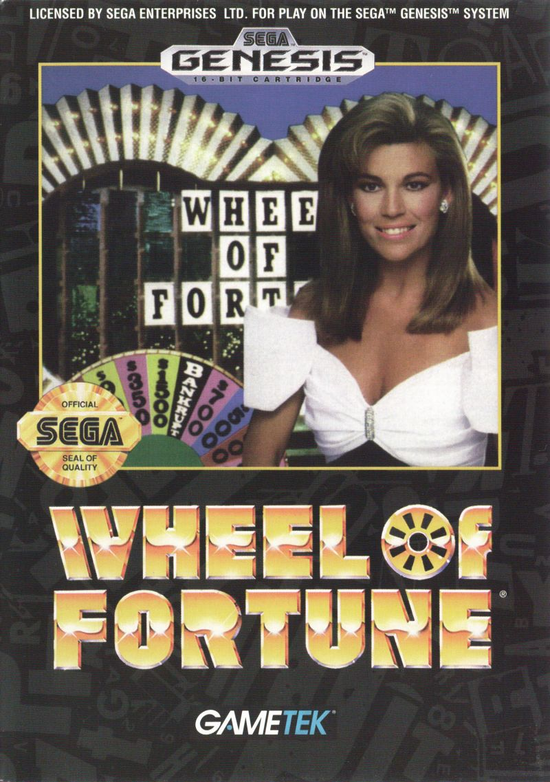 Wheel of Fortune for Genesis (1992) - MobyGames
