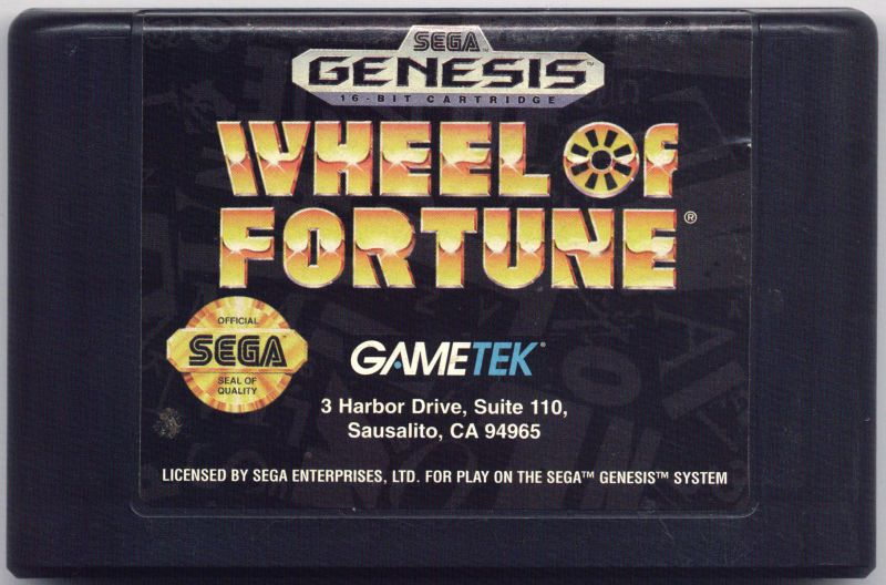 Wheel of Fortune Genesis Media