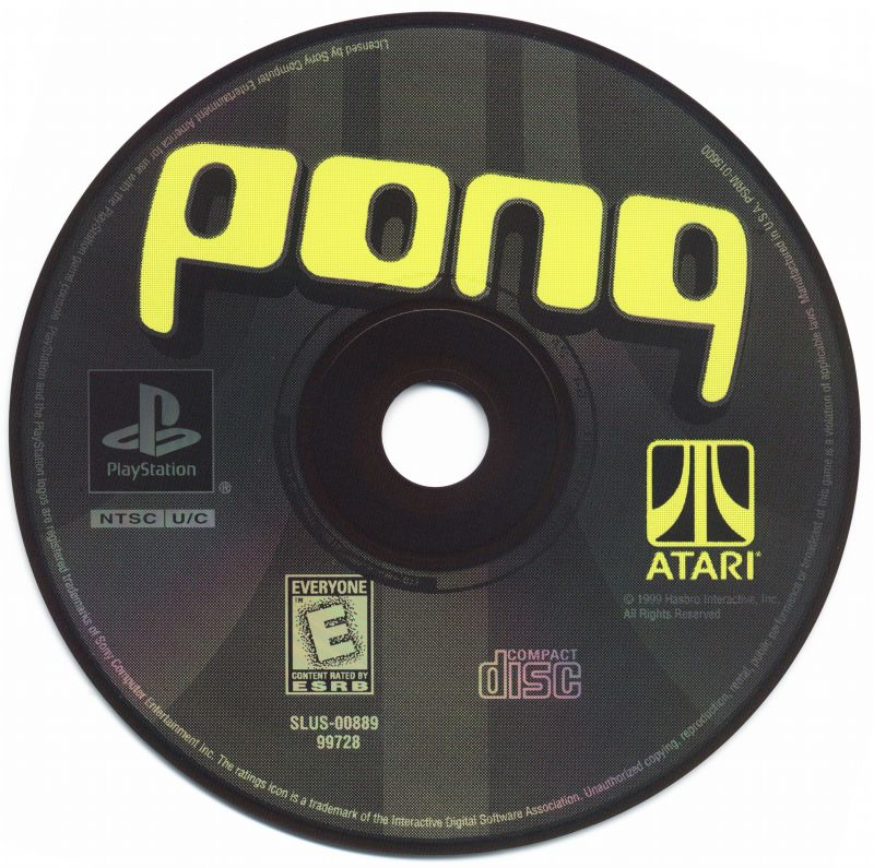 Pong: The Next Level PlayStation Media